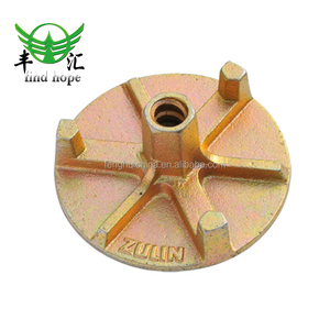 Formwork scaffold flange wing nut for construction building material