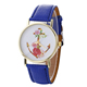 Free Sample Ladies Anchor Print Face Trend Design Quartz Watch