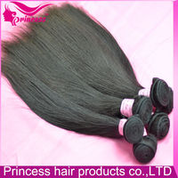 Hair weaving full end and thick 100% natural raw virgin Brazilian hair extension hair weft