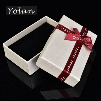 gift box jewelry korean gift box paper jewelry box manufacturers Yiwu