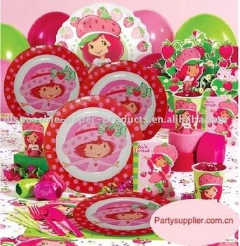 Strawberry Shortcake Party Birthday Box - Buy Strawberry Shortcake ...