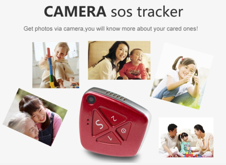 GPS tracking device with camera 3g tracking 2 way talk personal pendant mini necklace gps tracker