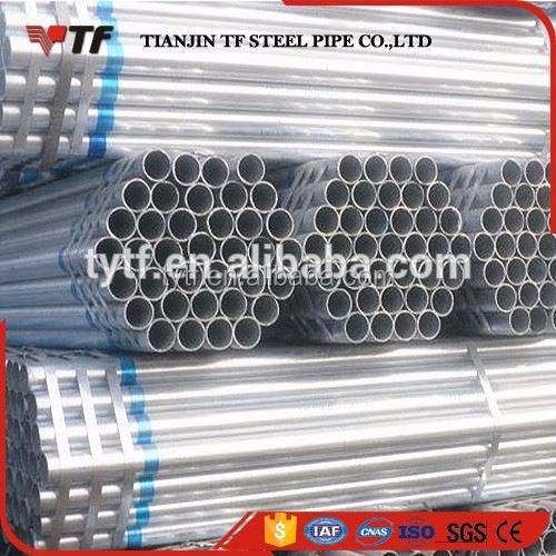 Made in china High quality dn 65 sch40 galvanized steel black stocking tube