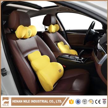 Custom Travel Memory Foam Car Neck Pillow Car Head Rest Pillow For