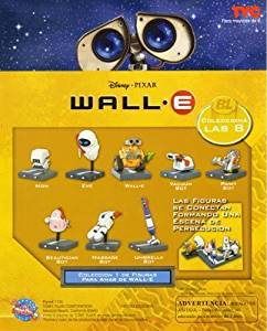 WALLE Collect and Build Capsule Toys Set of 8