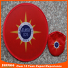 Advertisement cumized design polyester foldable frisbee