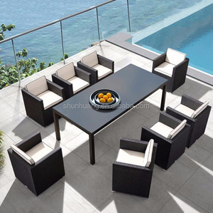 Nice design garden PE rattan chair outdoor wicker furniture