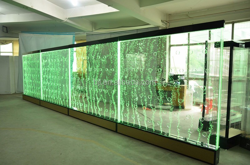 Trade Show Display Led Water Bubble Wall With Logo Acrylic