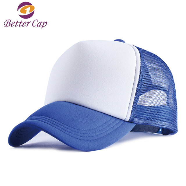 wholesale fast delivery blank custom mesh cap <strong>hat</strong>