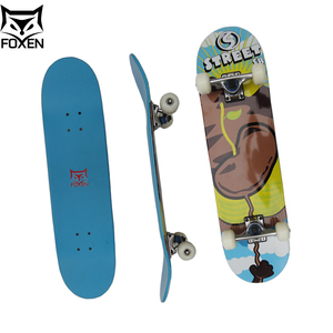 Wholesale Wooden Maple Concave Medium Complete Skateboard Long Board For Outdoor