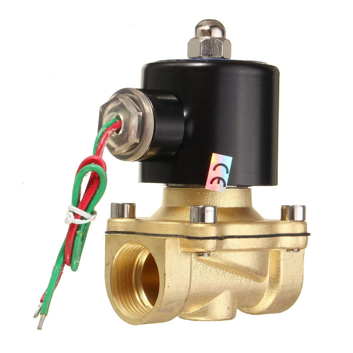 2W-200-20 AC220V 3/4inch Electric Solenoid Valve Water Air Fuels - Electrical Gadgets & Tools Electrical Pump & Valve - 1 x 2W-200-20 AC220V