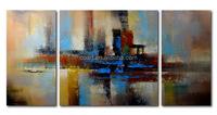 Handmade Cheap Leasted Canvas Art Oil Painting