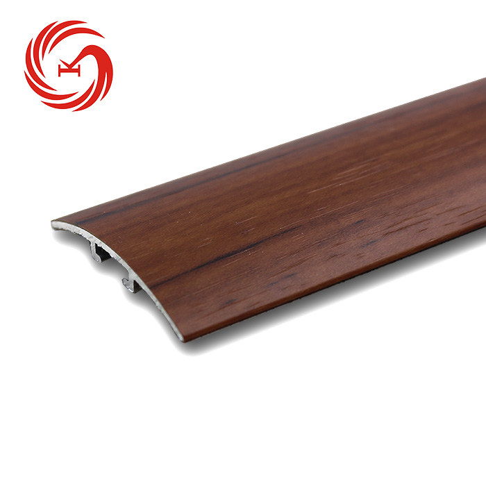KSL wood grain door threshold transition cover strip for flooring