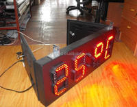 Chinese outdoor waterproof 16inch*green*4digit led gas price sign for gas station display
