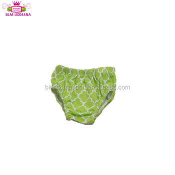 Customized your design cheap high waist shorts wholesale cute knitted newborn baby bloomers