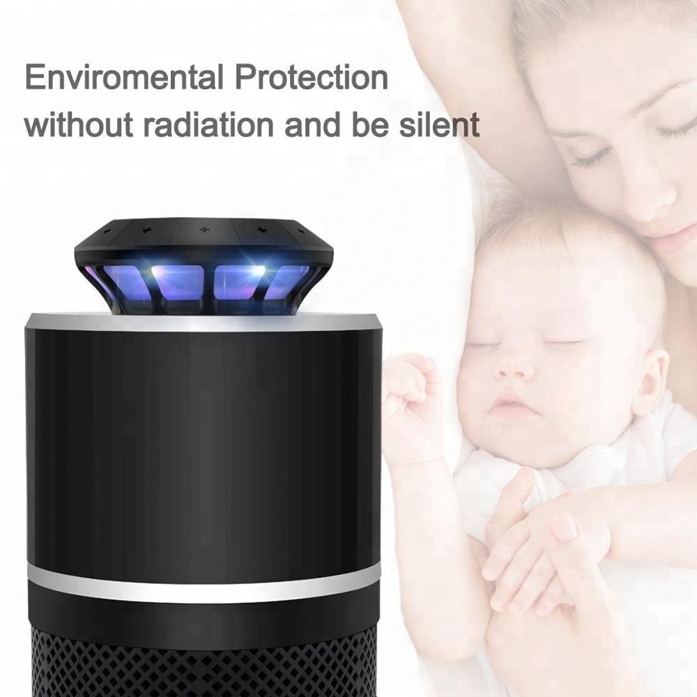 UV LED Photocatalyst Fly Bug Dispeller Electric Mosquito Insect Zapper Killer with Trap Lamp