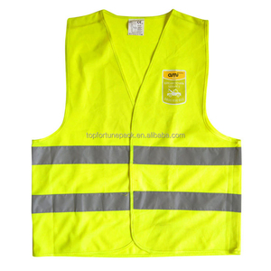 security guard vest workwearsafety wear yellow high visibility vest