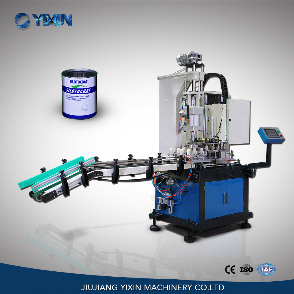 Automatic tinplate can sealer machine