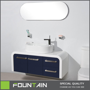 Mentioned Top Door and Drawer Design Modern Plastic Lacquer Bathroom Cabinets