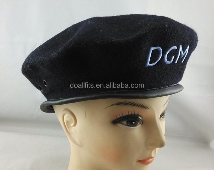 85b30d0ff9e81 Cheap Custom Military Badge Berets   Custom Embroidered Berets - Buy ...