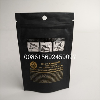 Foil Pack Bag 420 Child Proof Smell Cookies California Resealable Zipper Mylar Mini Packaging Ziplock Bags For Weed