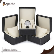High quality leather gift watch packing box for wholesale