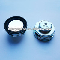 40mm 4ohm 3W audio speaker for MP3 player
