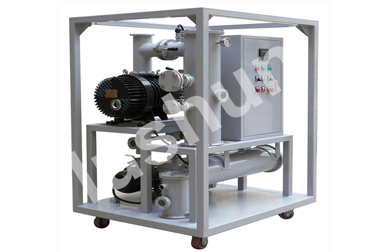 2019 LUSHUN Best Quality Vacuum Air Double Stage Pumping Set For Transformer Factory