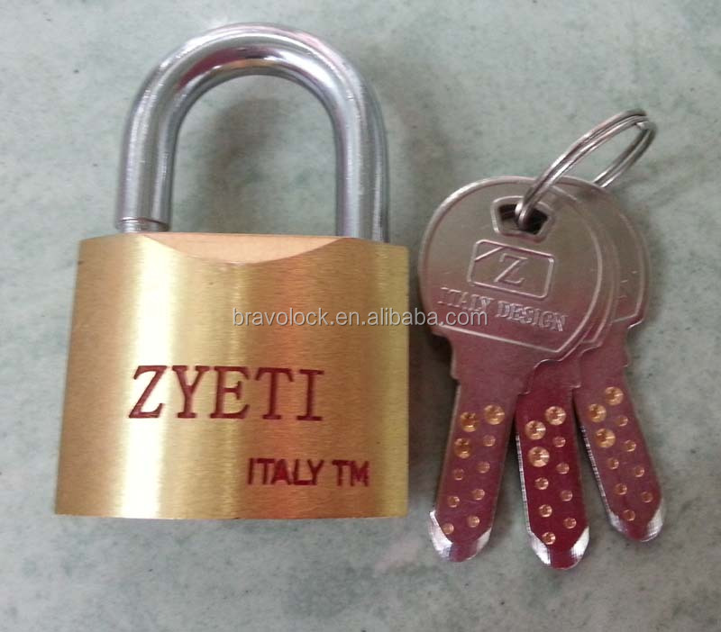 Security best padlock Solid BRASS computer key
