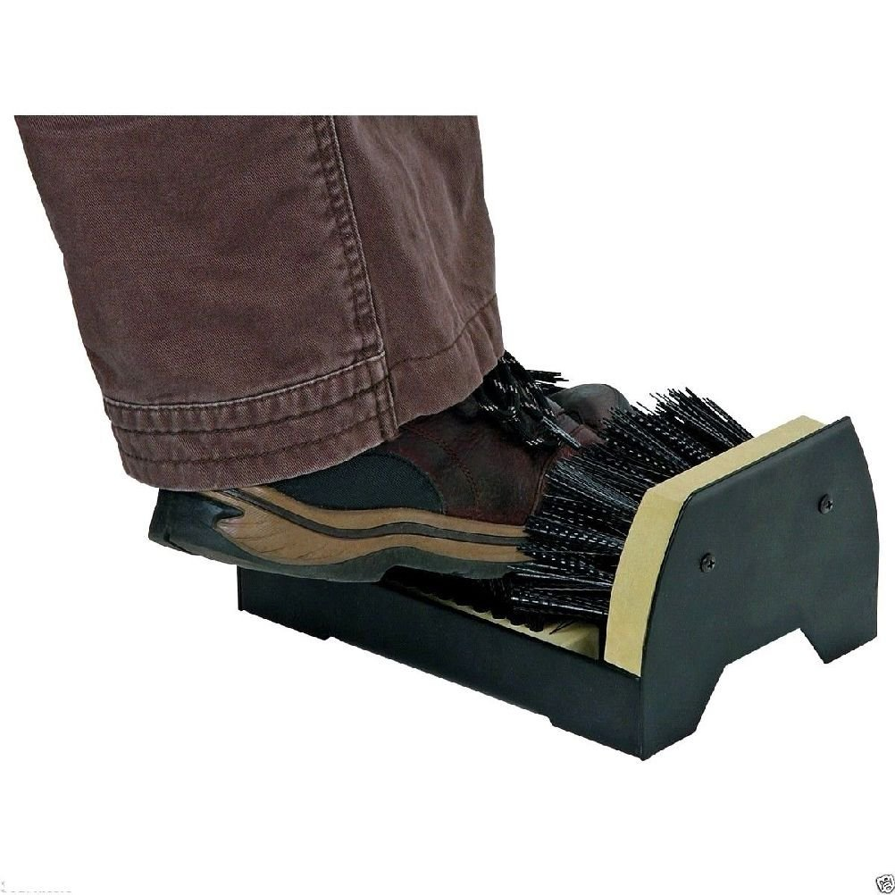 2f1166d394 Get Quotations · Boot Shoe Sneaker Floor Mounted Mud Dirt Brush Cleaner  Scraper House Home Garage