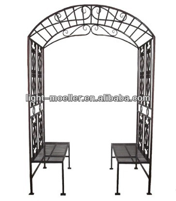 Charmant Garden Arch Bench Seat   Buy Outdoor Garden Bench,Garden Curved Bench,Metal Garden  Bench Product On Alibaba.com