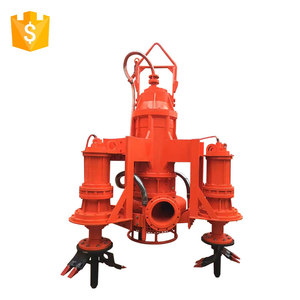 Submersible river sand dredge suction water pump
