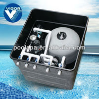 swimming pool sand filter media with dose sterillization