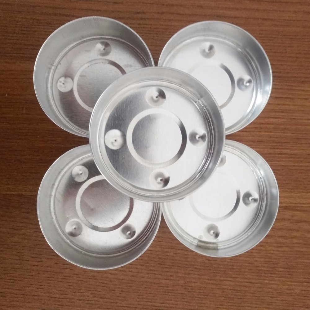 13gr metal aluminum tealight candle cup