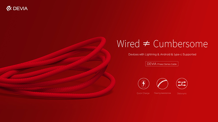 Pheez Series Type C Cable 2M, High Speed Charging and Sync, Pure copper wire & Aluminium alloy & TPE & Braided wire, Intelligent charging, data transmission