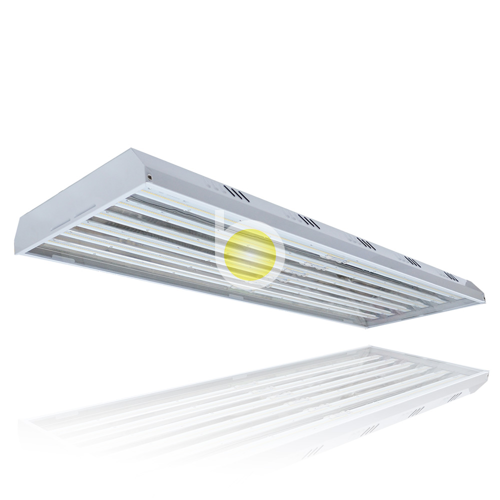Hot linear industrial fluorescent t5 low bay warehouse high bay led light fixtures
