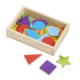 Mix Various Shape And Color Pr-eschool Educational Wooden Blocks Sets