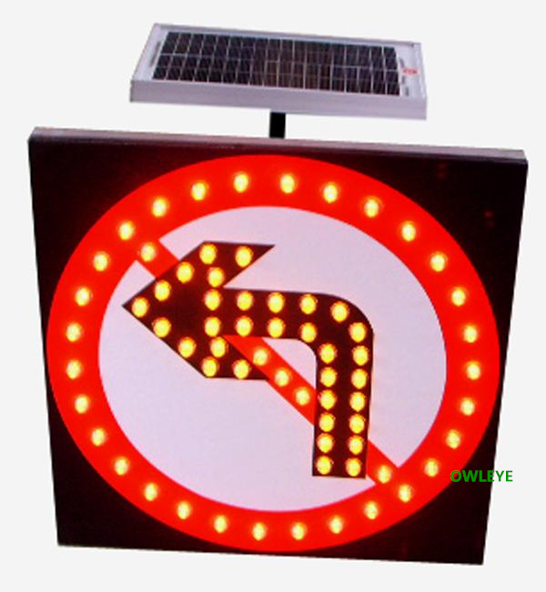 Solar Led Traffic Road Sign,Solar Traffic Signal Light