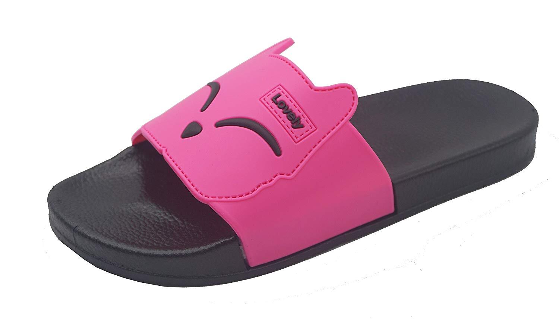 Cartoon Sliced Lemon Seamless Summer Slide Slipper For Men Women Boy Girl Outdoor Beach Sandal Shoes