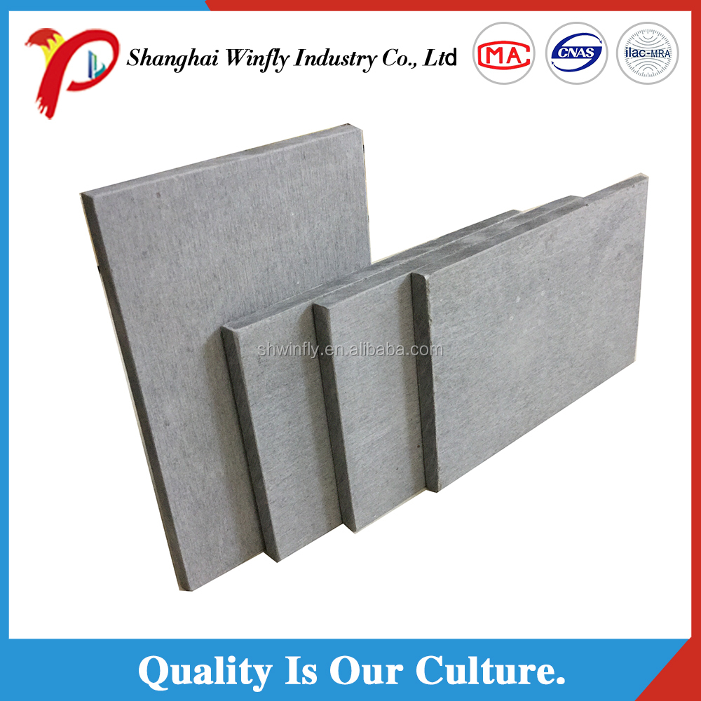 Waterproof High Density Reinforced Exterior Compressed Fire Resistant Fiber Cement Board