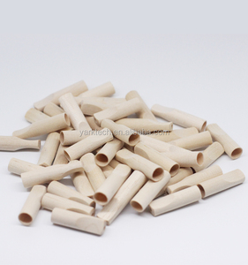 China Manufacturer wholesale different size shape disposable wooden holder cigar filter cigarillos mouthpiece cigarette tip