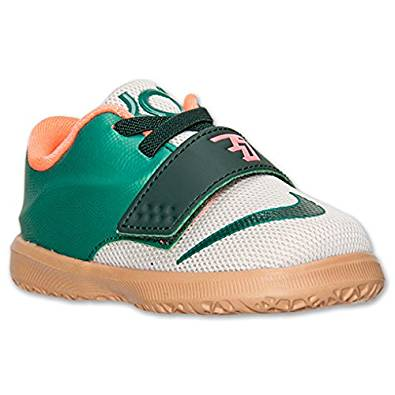 7e3885ffcd3a Get Quotations · Nike KD VII Toddler Shoes Mystic Green Light Bone Gum  Light Brown 669943-