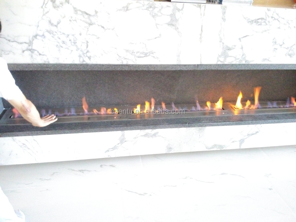 Modern Automatic Bioethanol Fireplace With Real Flame - Buy ...