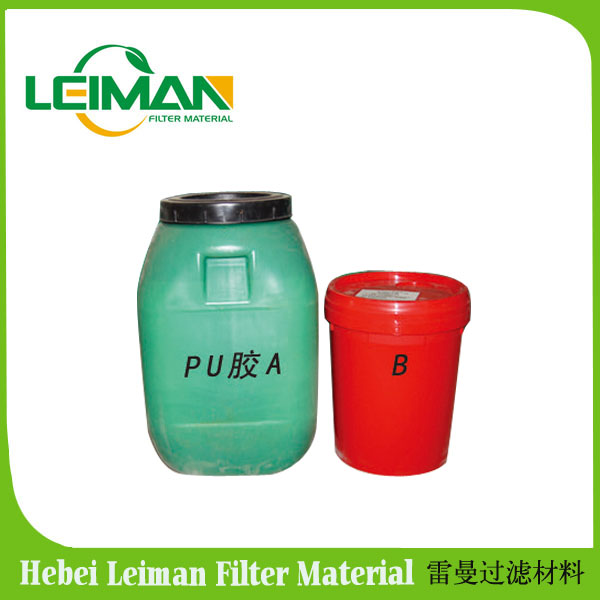 PU adhesive for auto air filter pu cover / glue for making air filter