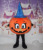 halloween pumpkin mascot costume good vision adult halloween pumpkin mascot
