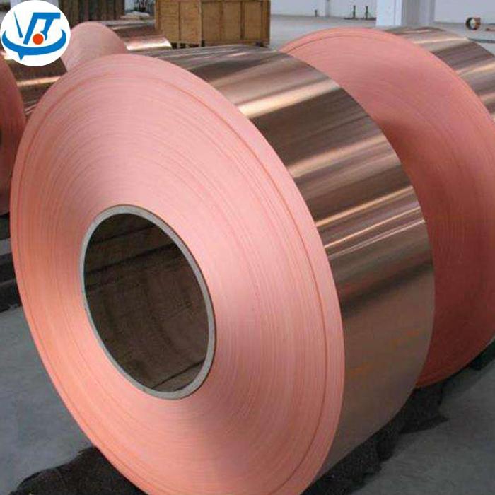 C1100 C1200 C1220 Red Copper Tape 0 5mm Brass Coil Sheet / Copper Strip  Coils - Buy Copper Coil,Copper Strips C1100,Brass Coil Product on  Alibaba com
