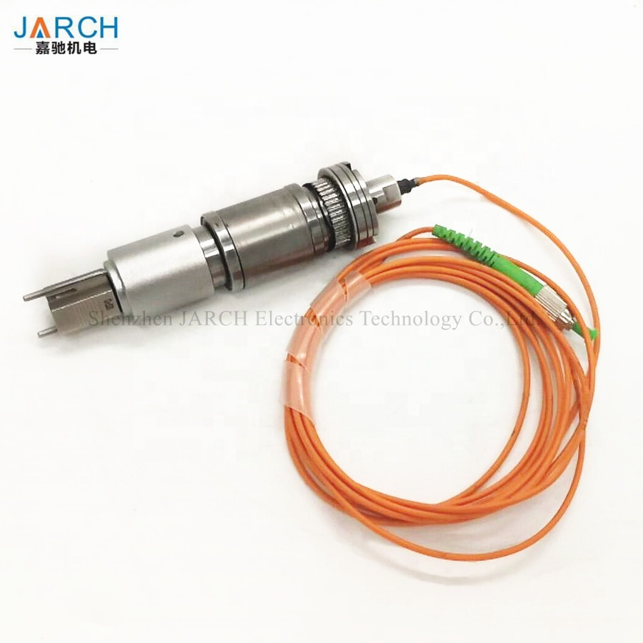 12000rpm Single Channel Medical Device Fiber Optic Slip Ring Rotary Joint Dedicated For OTC