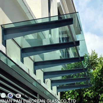 China Supplier Tempered Glass Roof Building Glass Roof Ce