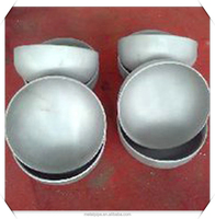 Butt-welding Pipe Fittings pipe fitting threaded caps Stainless Steel ASTM A403/A403M WP31254 Sch80 ASME B16.9