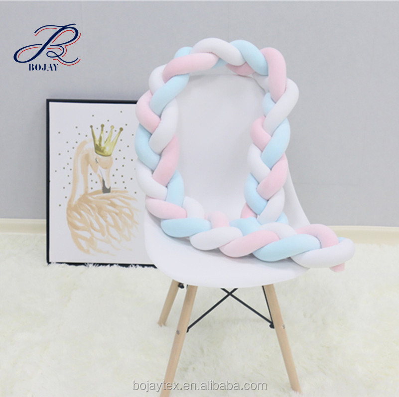 Toys & Hobbies Provided 45cm Plush Handmade Woven Knot Ball Braid Pillow Knotted Cushion Sofa Decoration Baby Sleeping Appease Soft Stuffed Doll